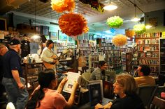 Bogart's Books and Coffee is open every day and has live entertainment and events every weekend.