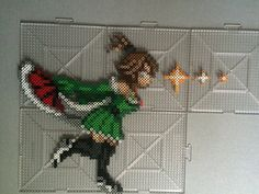 Evergreen - Fairy Tail perler beads by TehMorrison