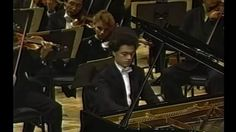 Evgeny Kissin plays Pyotr Ilyich Tchaikovsky's Piano Concerto No. 1 in B-flat minor, Op. 23 at the Carnegie Hall Opening Night in New York in 1995.