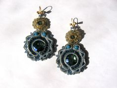 Soutache earrings  https://www.facebook.com/pages/sogni-di-perline/25193527490?fref=ts