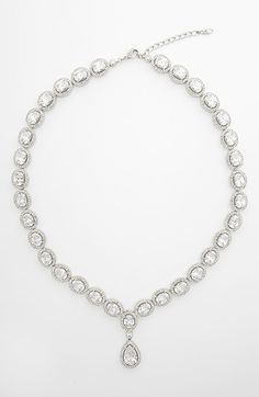Nadri Cubic Zirconia & Crystal Pear Drop Necklace | Nordstrom I LOVE THIS
