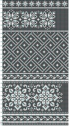 Knitting, crochet, or cross stitch pattern