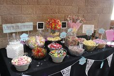 Sweet Bar - Sweets - Catering - Heaton House Events - Alternative Ideas