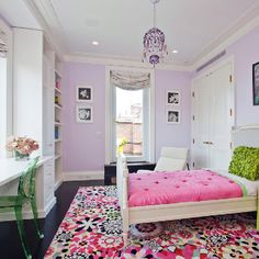 Pretty teen bedroom - she LOVES this!