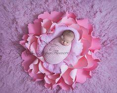 Newborn posing paper flower / Photoprop /Photography prop /Newborn prop /Baby photography prop