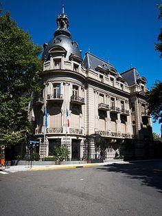 Palacio Ortiz Basualdo - BUENOS AIRES Art Nouveau Arquitectura, Neoclassical Architecture, Gypsy Living, Second Empire, City Landscape, Empire Style, City Architecture, Belle Photo, Travel Style