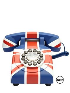 Union Jack telephone. You know, if I still had a land line....