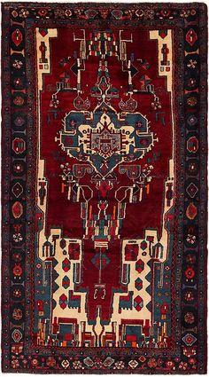 Red x 2 Hamedan Persian Rug Iranian Rugs, Oriental Rugs, Islamic Art, Persian Rug, Wool Area Rugs, Textile Art, Carpets, Bohemian Rug, Textiles