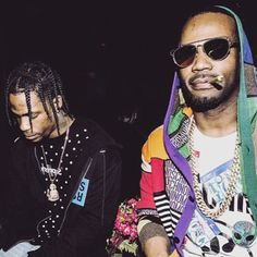 "Juicy J reworks two of Travis Scott's recent, post-Birds In The Trap Sing McKnight loosies, ""Butterfly Effect"" and ""A Man,"" on a couple of new remixes. Click to listen..."