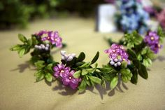 bits and pieces: DIY: Floral Head Wreaths