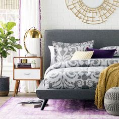 Unique Home Decor Ideas For A New Home Or Redecorating Platform Bed With Storage, Platform Beds, End Tables With Storage, Upholstered Platform Bed, Bed Reviews, Wood Beds, Headboard And Footboard, Panel Bed, Bed Storage