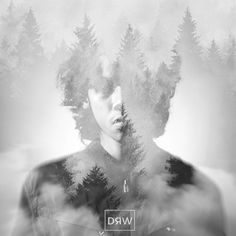 Artwork DRW PROJECT #26. Created by Andrew Mikail. Bandung, Indonesia #logo #design #graphicdesign #original #drwproject #illustrator #illustration #branding #doubleexposure #photoshop