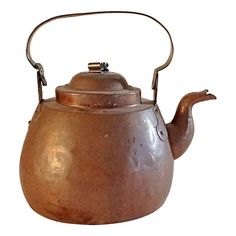 Hand Made Copper Kettle on Chairish.com