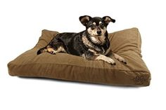 4 Pets DIY Dog Cushion Cover Pet Mat Case Do It Yourself Khaki Color Suede XL by 4pets >>> Read more info by clicking the link on the image.