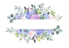 frames and borders Lilac Roses and Succulents Floral Cliparts - lilac and purple Watercolour flower clip art Frames - circles, rectangle and flower borders These floral frames have b Watercolor Pictures, Watercolor Flowers, Watercolor Paintings, Flower Boarders, Flower Frame, Flower Circle, Creation Photo, Wreath Drawing, Clip Art