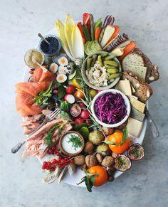 Smörgåsbord Platter: perfect Scandi-inspired sharing plate for Christmas