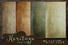 Heritage fine art textures by 2 Lil Owls Studio on Creative Market