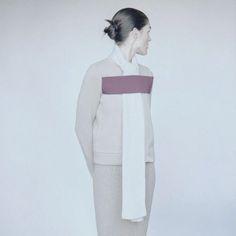 """ nonstop knits | hilary rhoda by mark peckmezian for vogue.com """