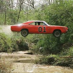 "1969 Dodge Charger ""General Lee"" The Dukes of Hazzard"
