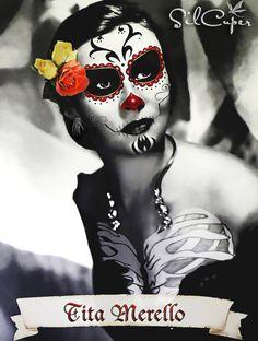 DIA DE LOS MUERTOS - TITA MERELLO by silcuper.deviantart.com on @deviantART