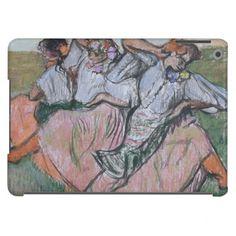 Three Russian Dancers by Edgar Degas iPad Air Cases