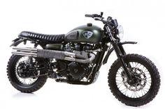 Triumph Scrambler - The Dirt Bike by British Customs - Silodrome