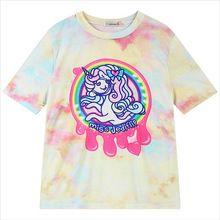 Mujeres del verano t shirts unicornio Pegasus Harajuku vete a la mierda…