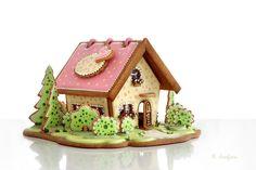 Gingerbread house   by Neli Josefsen (Nelka)