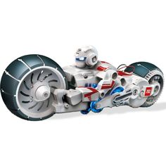 Futuristic motorcycle Fuel Cell bike - runs on salt water! Includes 3 fuel cell strips - each one runs for up to 4 hours. Drives in various patterns for hours of fun. Robots For Kids, Kids Toys, Design3000, Unusual Presents, 10 Year Old Boy, Shops, Water Powers, Star Wars, Buy Toys