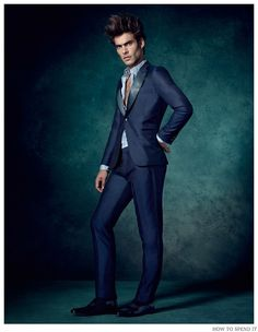 Spanish model Jon Kortajarena connects with photographer Damian Foxe for a stunning new editorial from How to Spend It. Hitting the studio for the magazine's December 2014 issue, Jon is at his best, hitting simple but strong poses in a luxurious wardrobe, ideal for the holidays. Sporting rich jewel tones along with classics such as …