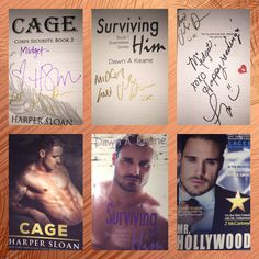 Cage by Harper Sloan Surviving Him by Dawn Keane Mr.Hollywood By Lacey Weatherford The Jase Dean Cover Model Jase Dean is Perfection