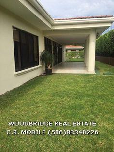 CR Santa Ana casa lujo alquiler $4.500 o venta 1 planta Woodbridge bienes raices Costa Rica mobile (506)88340226