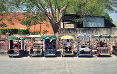 rickshaws - yucatan roadtrip.