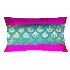 Diy Cushion, Cushion Covers, Cushion Ideas, Silk Pillow, Quilted Pillow, Lumbar Pillow, Pillow Cover Design, Decorative Pillow Covers, Pillow Embroidery