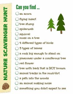 Nature Scavenger Hunt {with printable!} Outdoor Nature Scavenger Hunt {w/free printable!} - Edventures with KidsOutdoor Nature Scavenger Hunt {w/free printable!} - Edventures with Kids Outdoor Scavenger Hunts, Scavenger Hunt Birthday, Scavenger Hunt Clues, Nature Scavenger Hunts, Photo Scavenger Hunt, Scavenger Hunt For Kids, Birthday Games, Birthday Ideas, Games