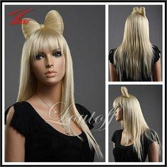 NEU Perücke Wig Haar Blond Lang Glatt ZL949-613