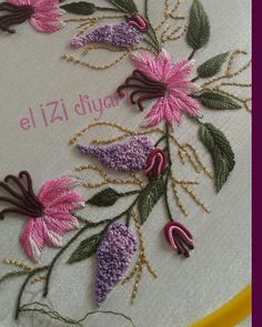 Getting to Know Brazilian Embroidery - Embroidery Patterns Handmade Embroidery Designs, Hand Embroidery Patterns Flowers, Simple Embroidery, Ribbon Embroidery, Brazilian Embroidery Stitches, Hand Embroidery Stitches, Embroidery Needles, Hardanger Embroidery, Embroidery Supplies