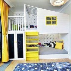 the coolest kids bunk beds ever kids room ideas pinterest bunk rh pinterest com Airbnb Room Bunk Beds Bunk Beds Rooms to Go