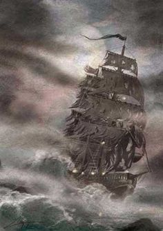 Disappearing Ships -The Flying Dutchman - Fata Morgana