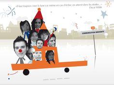 La carte de voeux de l'agence version 2010 !