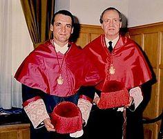 Mario Conde con Su Majestad el Rey don Juan Carlos