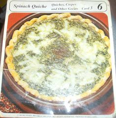Easy Spinach Quiche Recipe with Swiss Cheese
