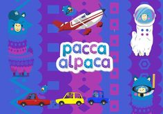 In a plane, up in space, feeling the wind on his fluffy face, with a snorkel, in a car, Pacca Alpaca's ready for adventure whenever you are!