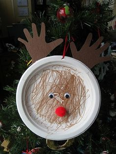 Reindeer toddler craft