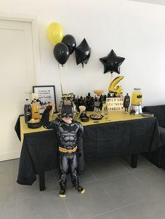 Milos Batman Birthday party