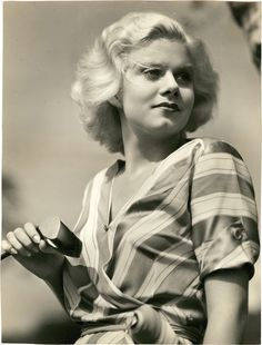 Jean Harlow by Clarence Sinclair Bull, 1932