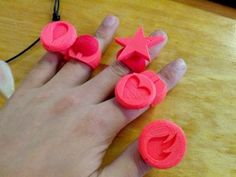 Modular Jewelry System by makerbot - http://www.thingiverse.com/thing:25190#