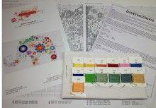 Modern cross stitch kits Viota's XStitch