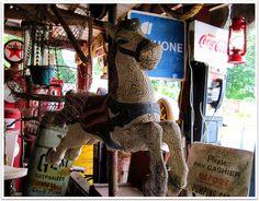 vintage carousel horse by #OliveLoafDesign