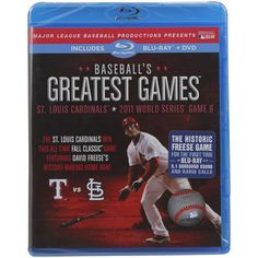 St. Louis Cardinals 2011 World Series Greatest Games Collection Blu-Ray & DVD Set